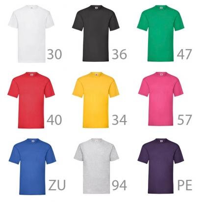 Alcuni esempi colore T-Shirt